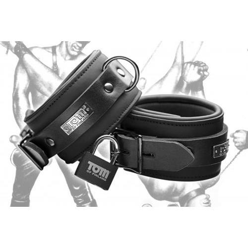 Tom of Finland Tom of Finland Neoprene Ankle cuffs w/ locks - Lovematic.ie
