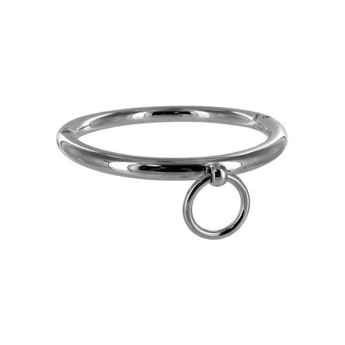Master Series Ladies Rolled Steel Collar with Ring.
