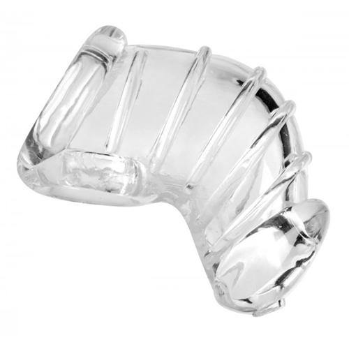 Master Series Detained Soft Body Chastity Cage.