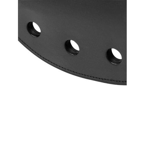 Strict Leather Strict Leather Rounded Paddle with Holes - Lovematic.ie
