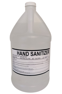 1-Gallon Jugs of Liquid Hand Sanitizer (Sold in Cases of 4) $104.00/Case ($26.00/Jug)
