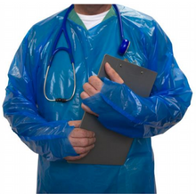Load image into Gallery viewer, Duraguard TF1 Isolation Gowns (Sold in Cases of 200) $520.00/Case ($2.60/Gown)