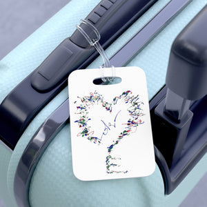 Heartkey Luggage Tag