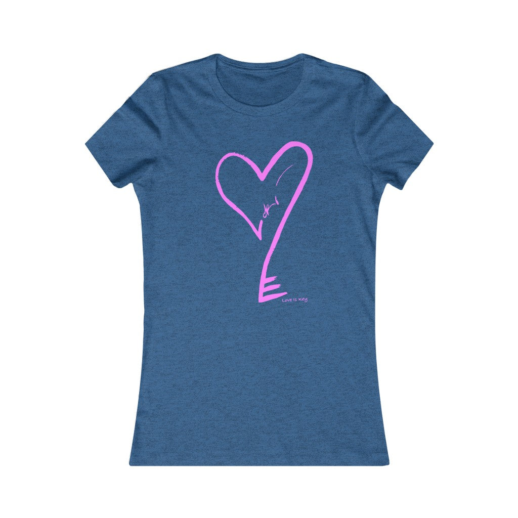 Heartkey Women's Favorite Tee