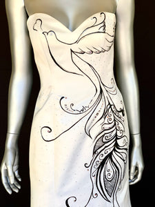 """Love Dove"" One-of-a-kind Dress"