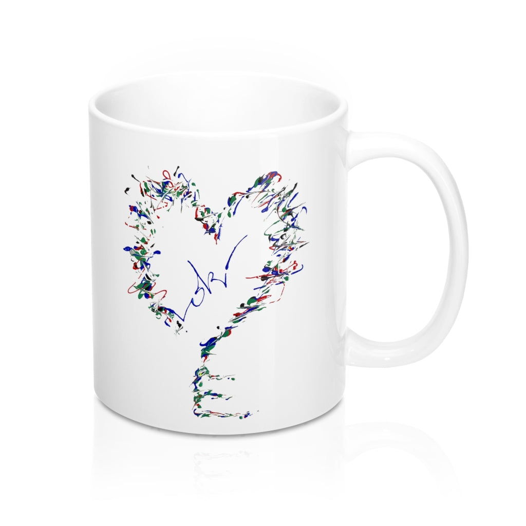 Heartkey Mug By Loki