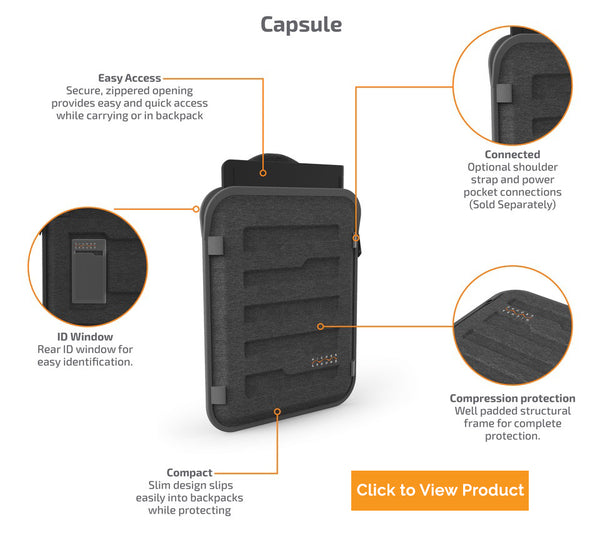 backpack friendly cases for schools