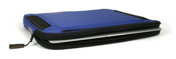 blue flak jacket laptop case