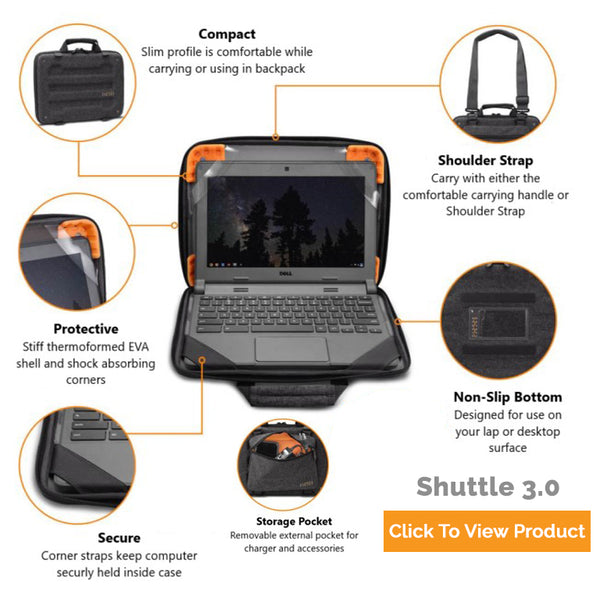 shuttle 3.0 hp chromebook case