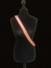 Load image into Gallery viewer, Pocket Hi Viz -  yellow or orange sash for you or your horse