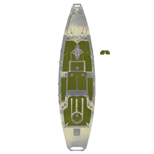 Hobie Kayak Mat Kit Pa12 Interior Green Espresso