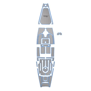 Hobie Kayak Mat Kit Pa14 Titanium Blue No-hull