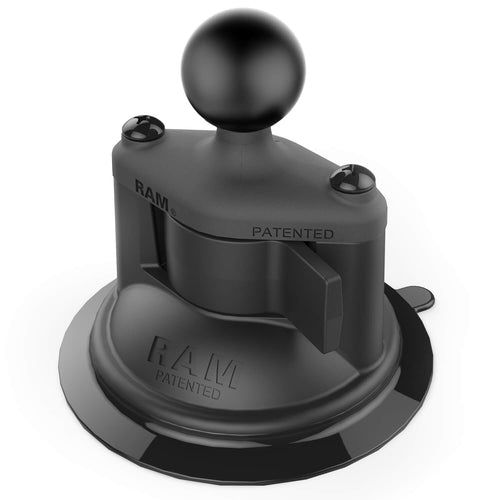 RAM Twist-Lock Composite Suction Cup Base with 1-inch B Size Ball