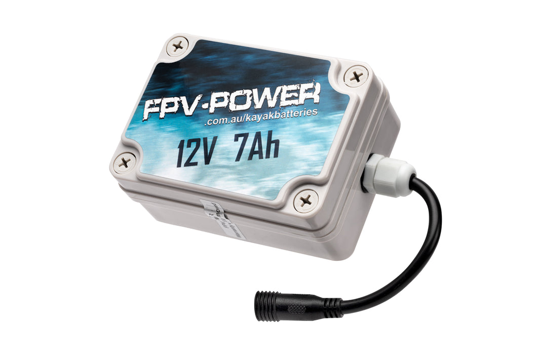 FPV-POWER 7Ah Kayak Battery And Charger Combo RTL-FPV7AH