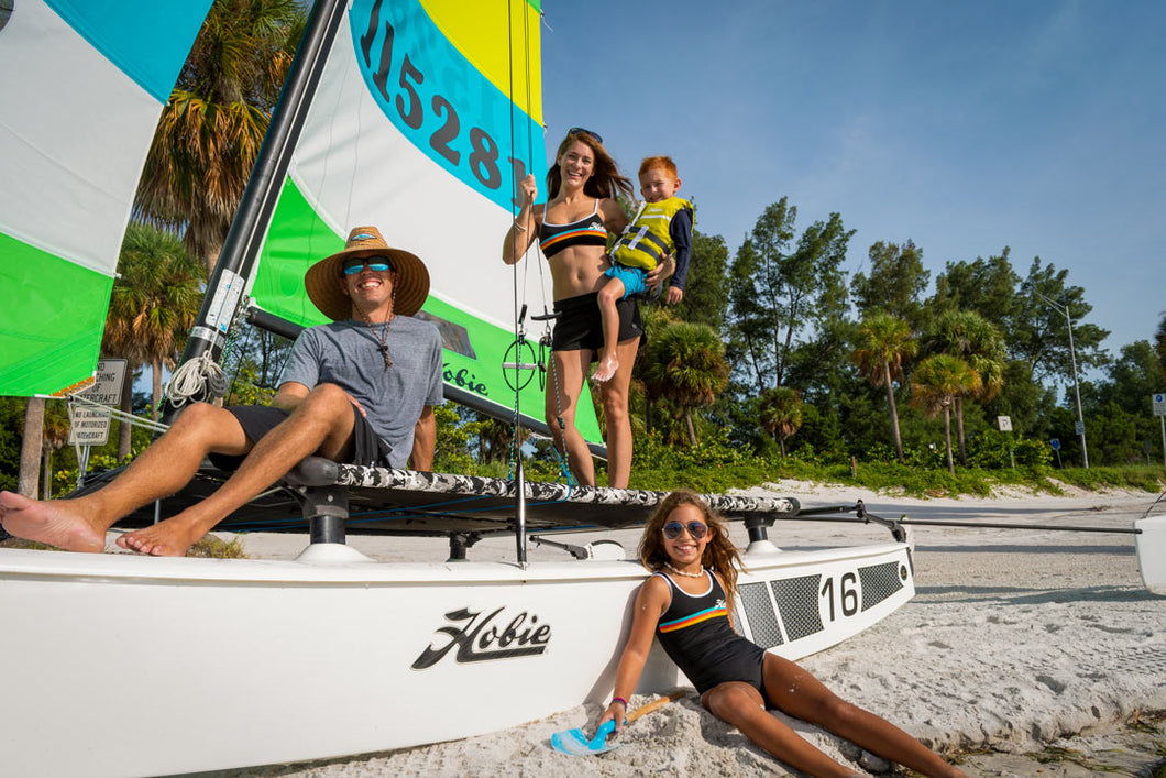 Hobie 16 Catamaran  - Fiberglass Sailboat