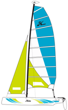 Load image into Gallery viewer, Hobie Getaway Sailboat 16GGMMAW