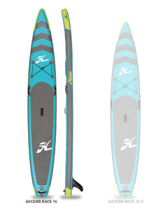 Hobie SUP Race Inflatables Comparison Ascend 14' SUP 10566140-30