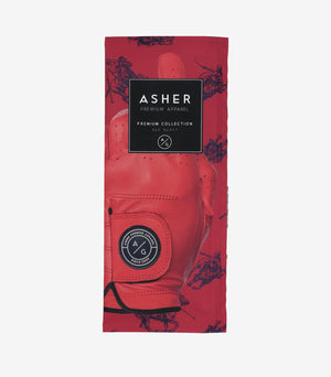 ASHER GOLF RED BURST