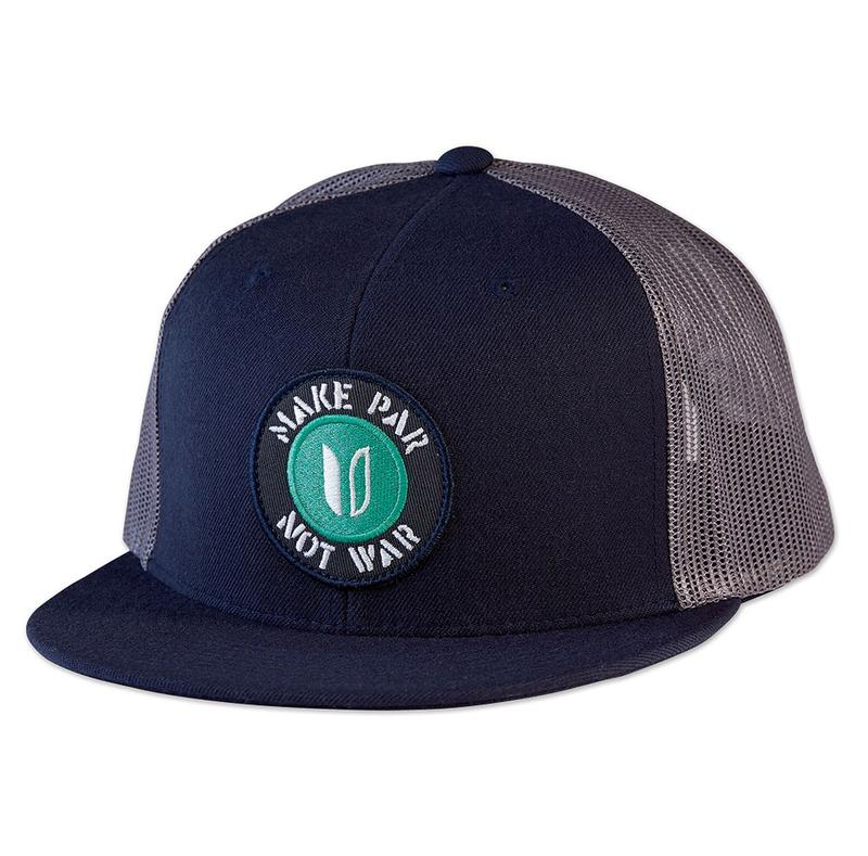 Linksoul Make Par not War Trucker hat
