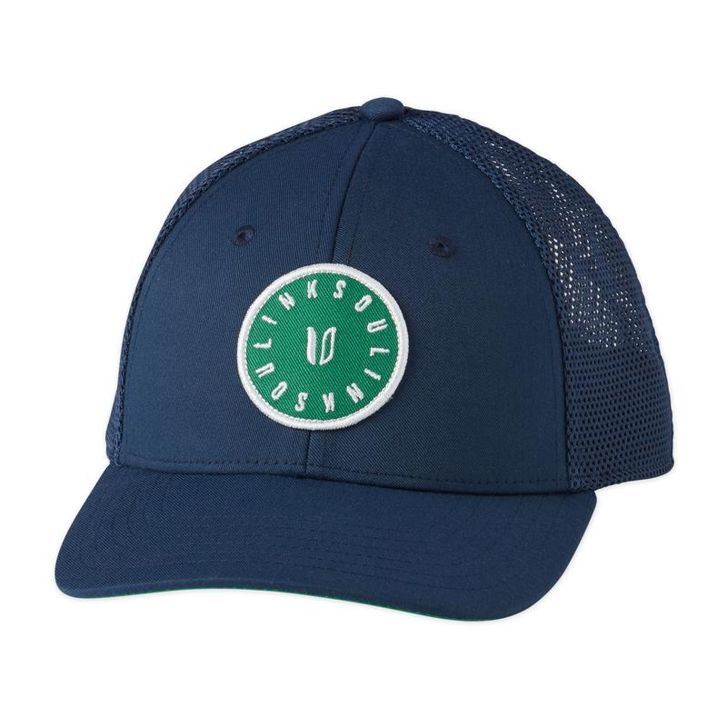 Linksoul Green Patch Trucker Hat
