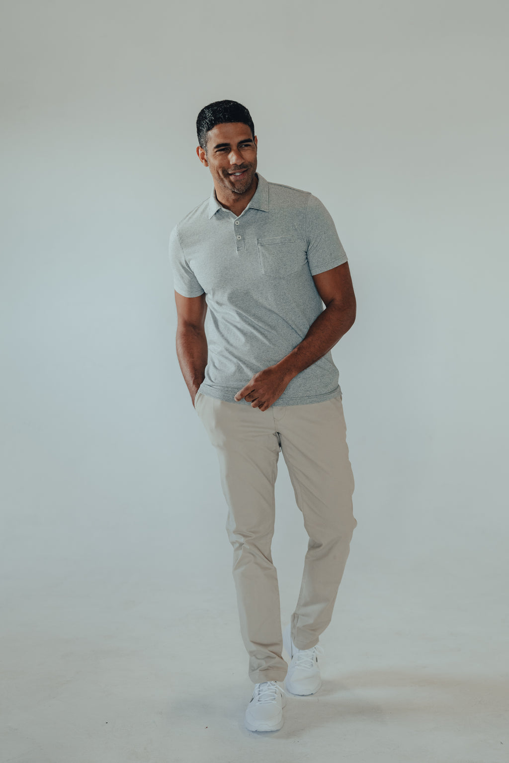 THE NORMAL BRAND ACTIVE PUREMESO POLO
