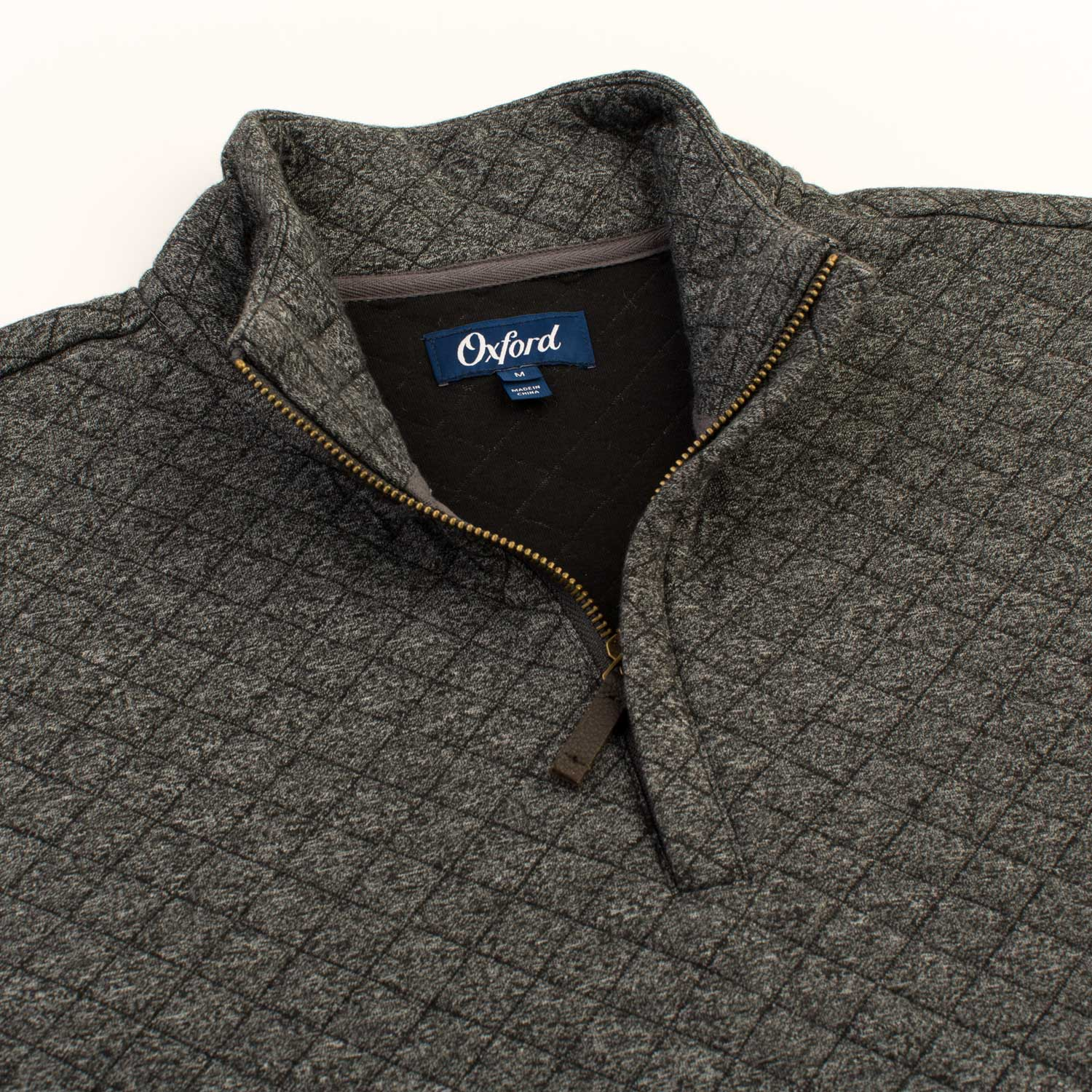 OXFORD LINDEN QUILTED 1/4 ZIP PULLOVER