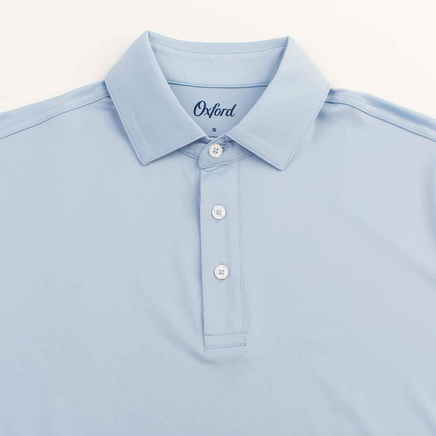 OXFORD ELLIOT COOLMAX PERFORMANCE JERSEY POLO