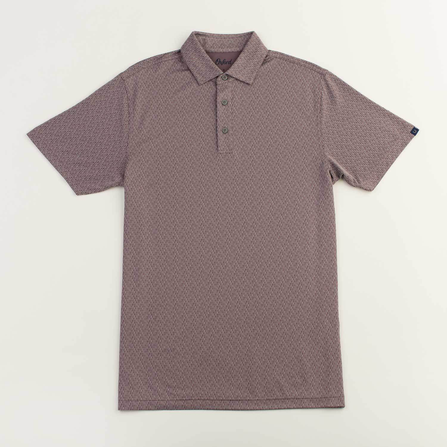OXFORD HAMLIN PERFORMANCE JACQUARD POLO