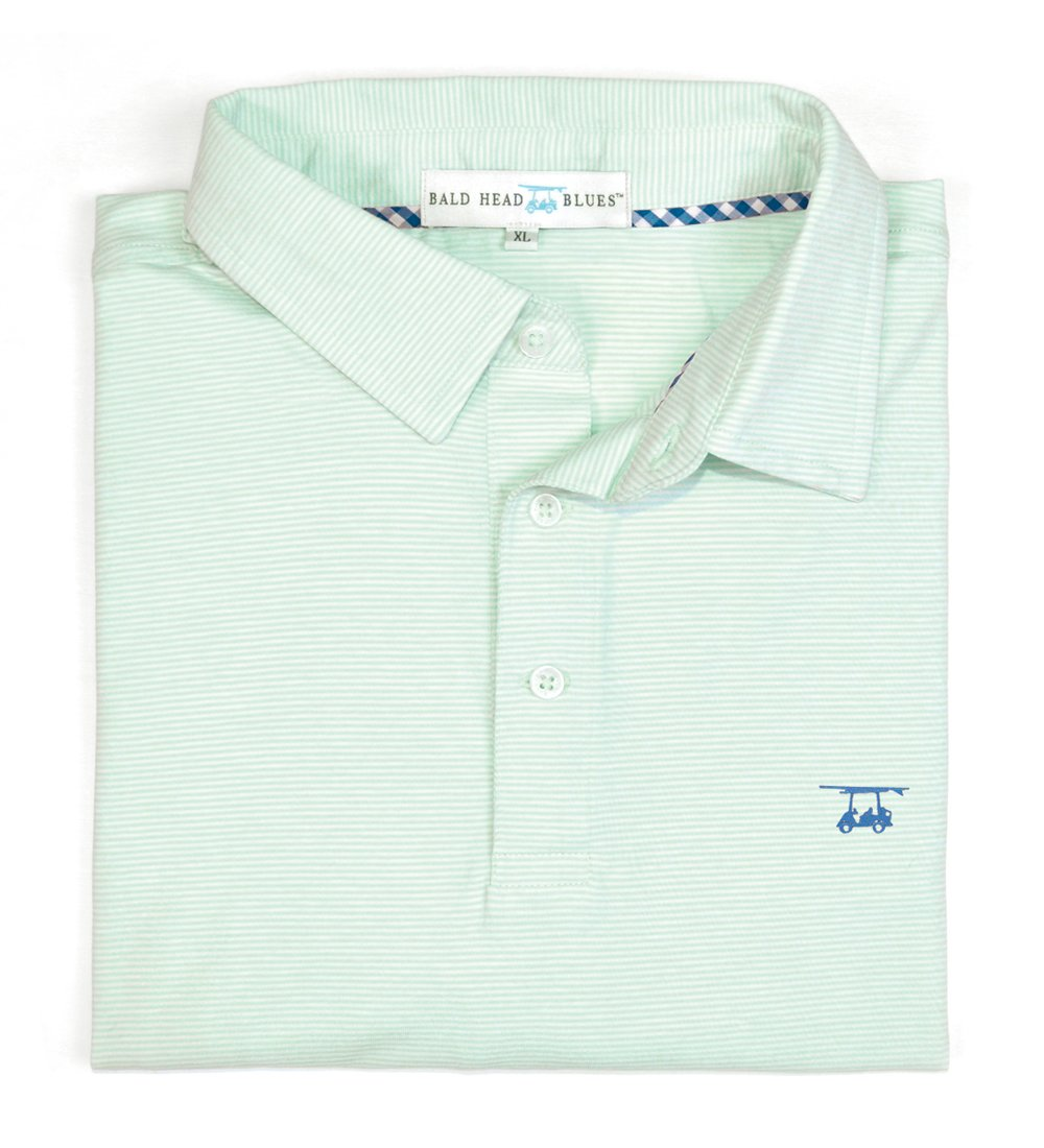 Bald Head Blues Youth Ace Polo