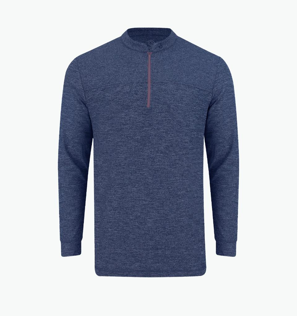 SWANNIES THOMPSON 1/4 ZIP PULLOVER