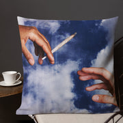 Stoner Throw Pillow