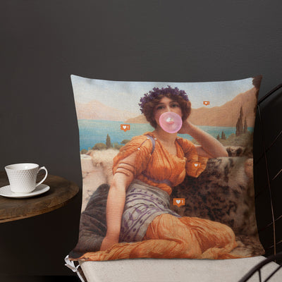 Clout Throw Pillow