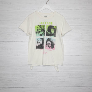Distressed Beatles Tee