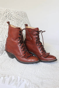 Women's Lace Up Field Boot
