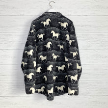 Load image into Gallery viewer, Wild Horses Teddy Jacket