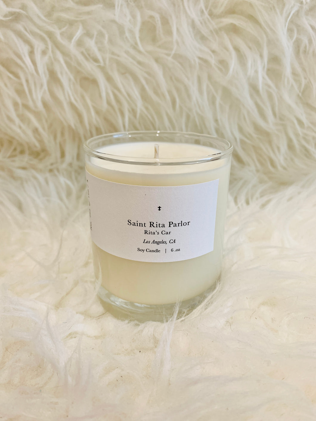 Saint Rita Parlor Candle: Rita's Car
