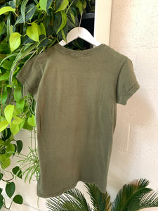Desert Sounds Motel Tee in Army