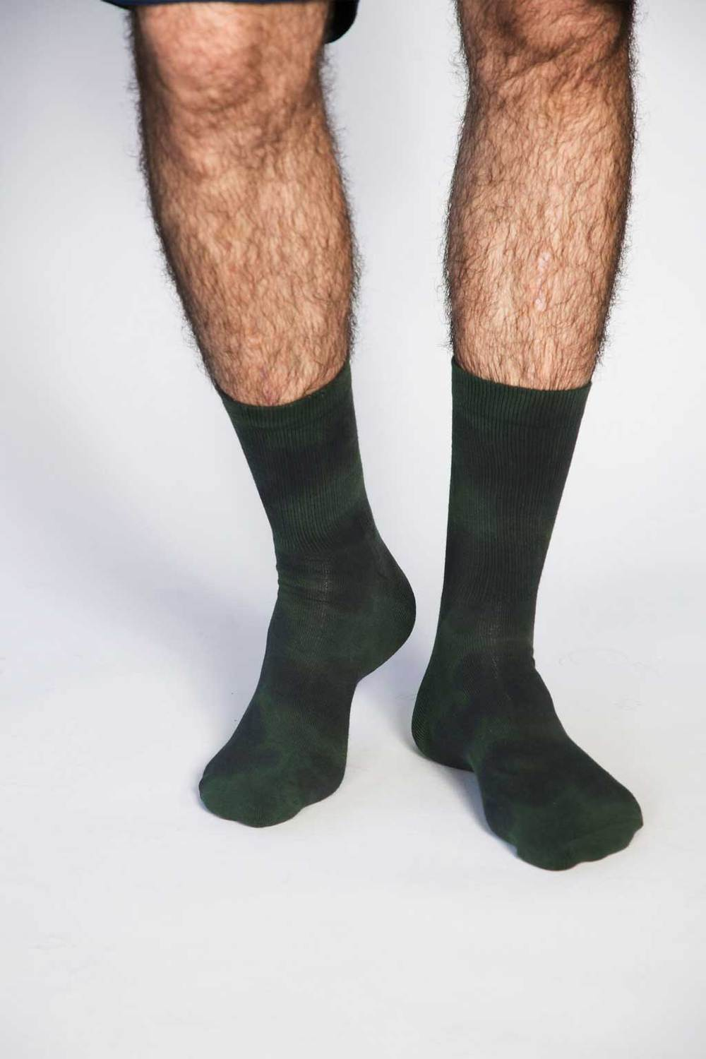 Men's Green Trippy Sock