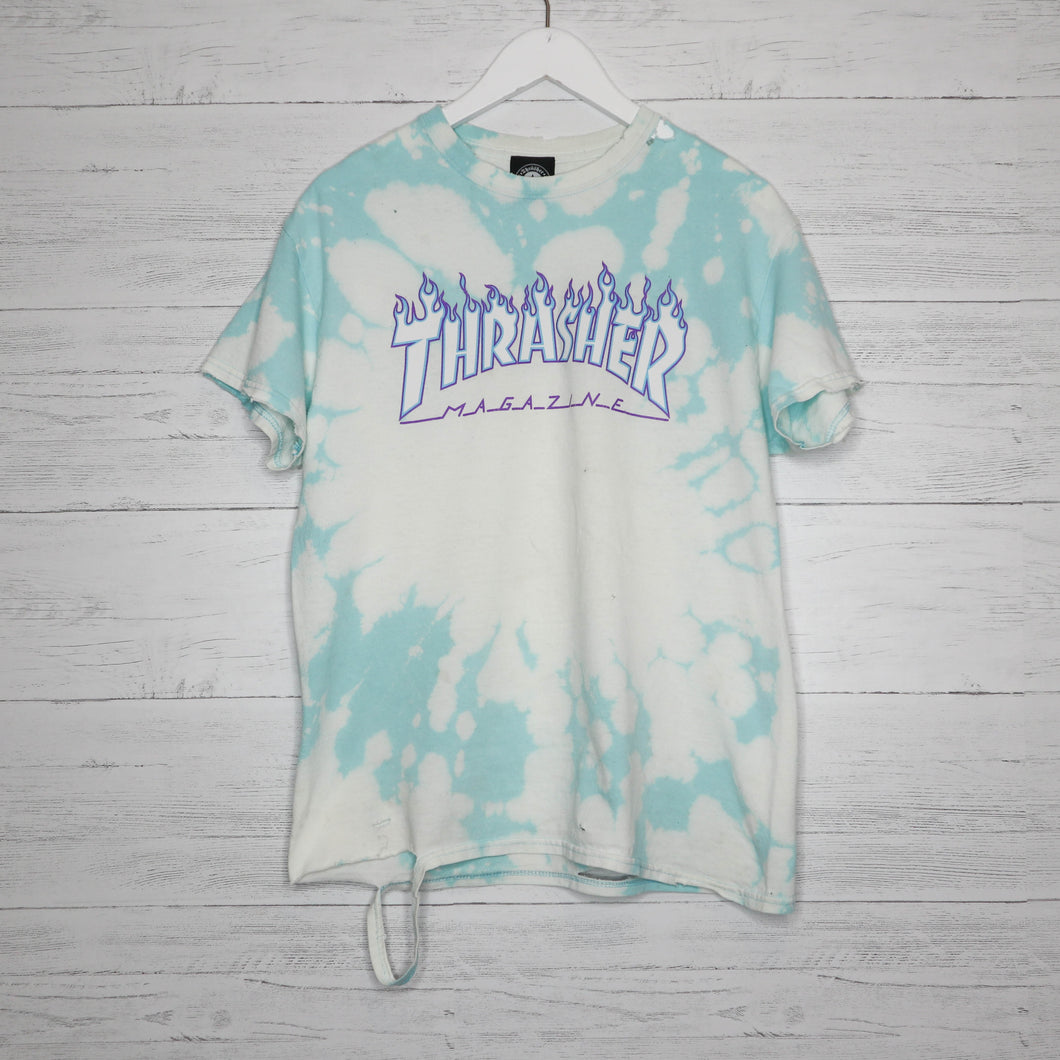 Distressed Thrasher Tee