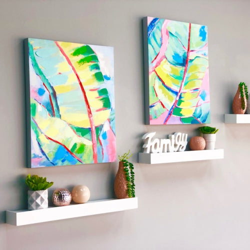 Banana POP Leaf Canvas Art