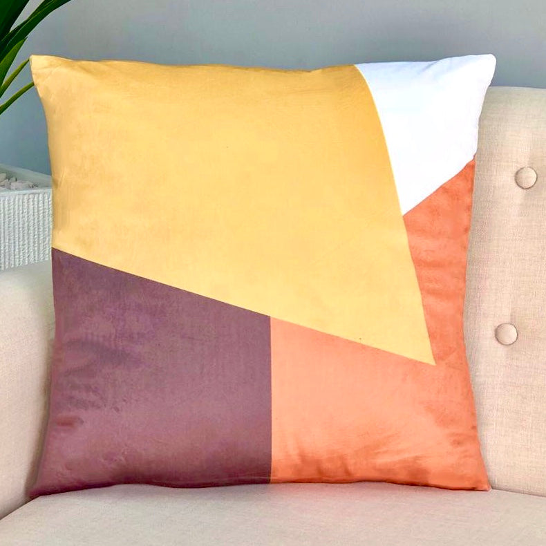 Vivid Pumpkin Pillow