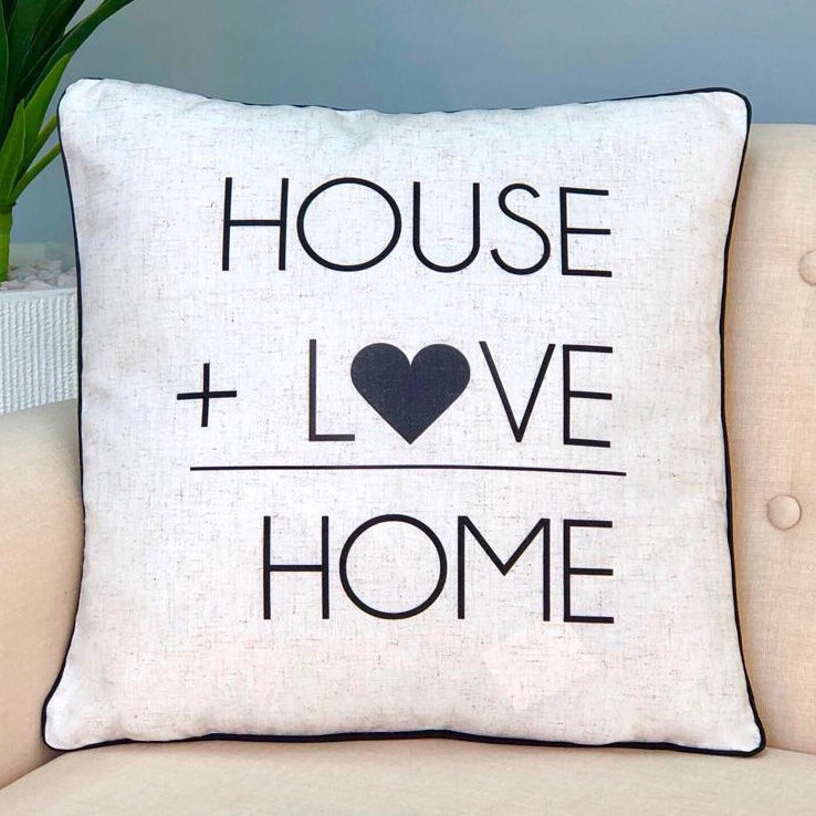 House + Love is Home Pillow