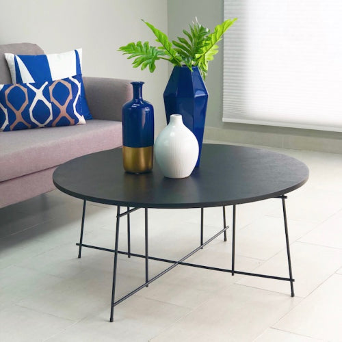 Meliton Round Wegue Coffee Table