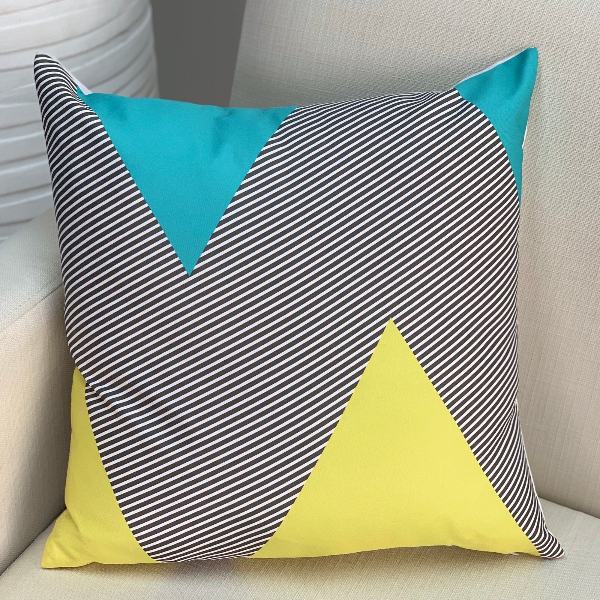 Abstract Sky Pillow