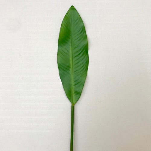 Tropical Bird of Paradise Synthetic Leaf