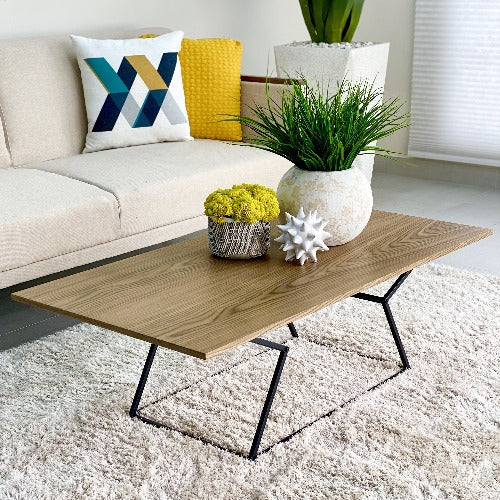 Giulia Wooden Walnut Coffee Table
