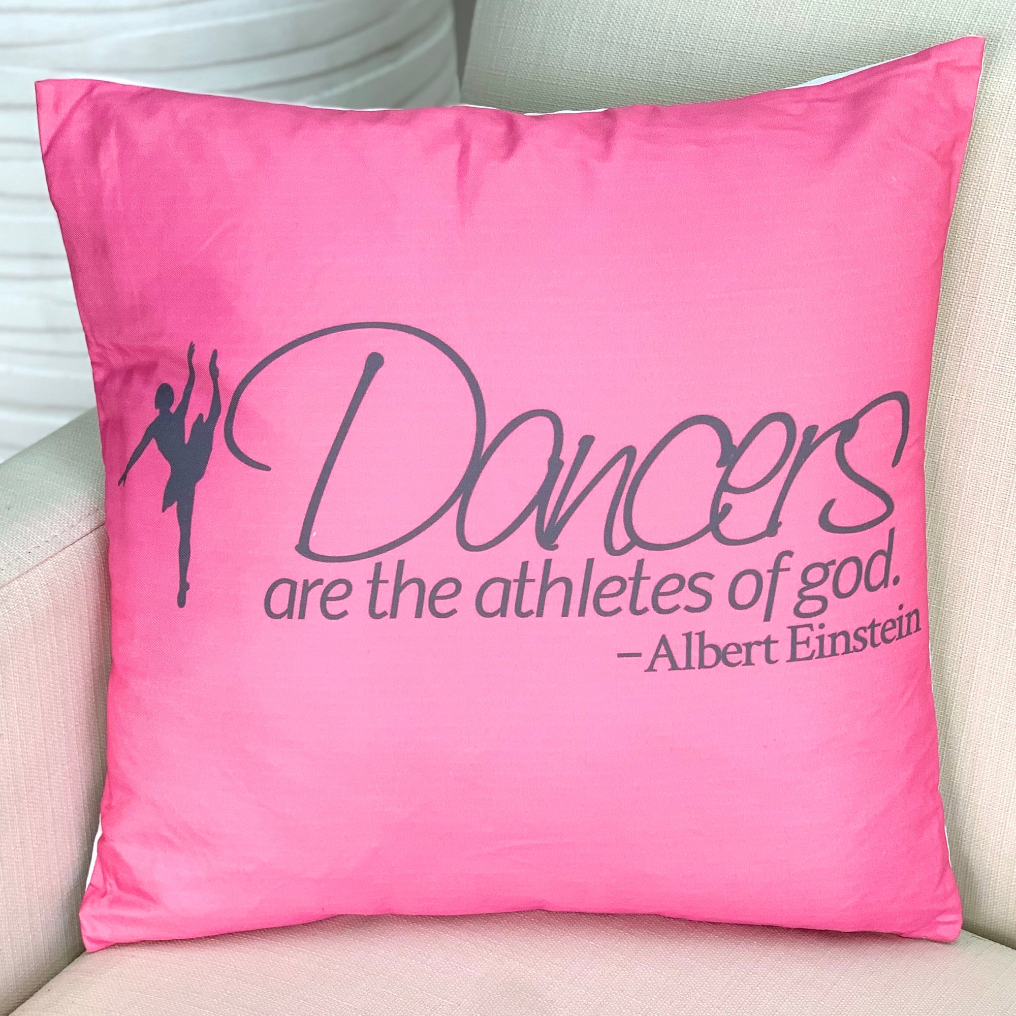 Dancers Are The Athletes Of God Pillow