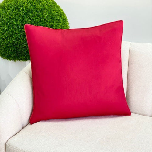 Large Bright Red Padding Pillow