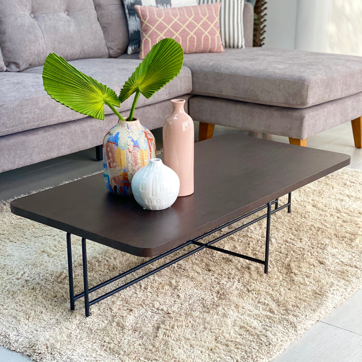 Laia Wooden Wengue Coffee Table