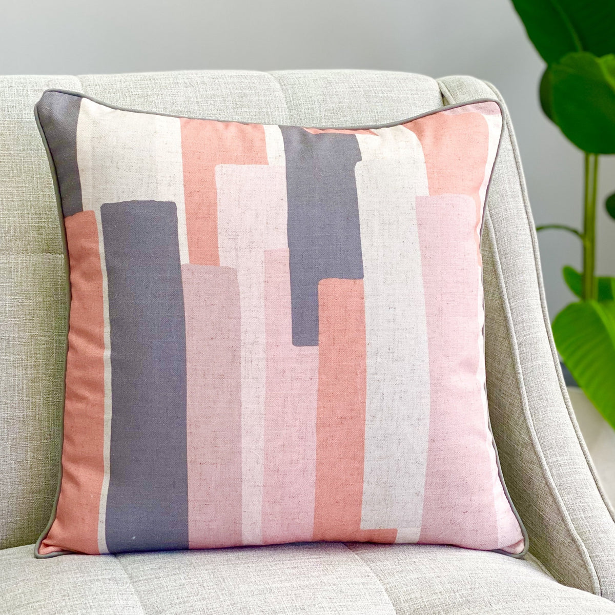 Horizon Pink Pillow